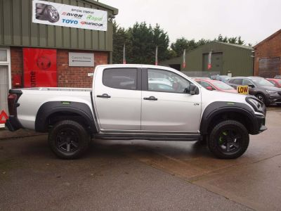 Isuzu D-max 1.9 XTR Nav+ Double Cab 4x4 Auto Pick Up Diesel SILVER at F Troop & Son Ltd Leadenham
