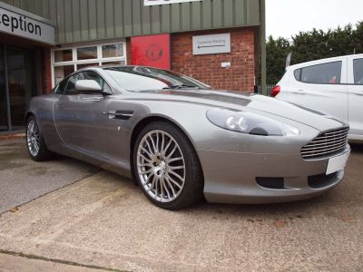 Aston Martin DB9 5.9 V12 2dr Touchtronic Auto Coupe Petrol SILVER at F Troop & Son Ltd Leadenham
