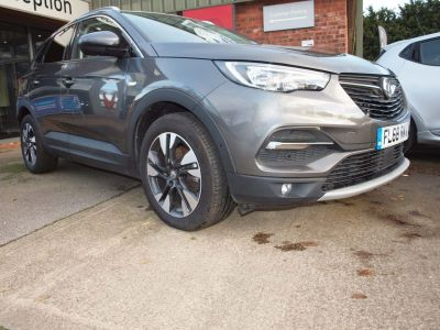 Vauxhall Grandland-x 1.2 Turbo Sport Nav 5dr Hatchback Petrol GREY at F Troop & Son Ltd Leadenham