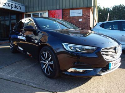 Vauxhall Insignia 2.0 Turbo D Elite Nav 5dr Hatchback Diesel BLUE at F Troop & Son Ltd Leadenham
