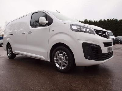 Vauxhall Vivaro 2900 1.5d 100PS Sportive H1 Van Panel Van Diesel WHITE at F Troop & Son Ltd Leadenham